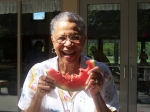 This watermelon sure is sweet!  Helen Price